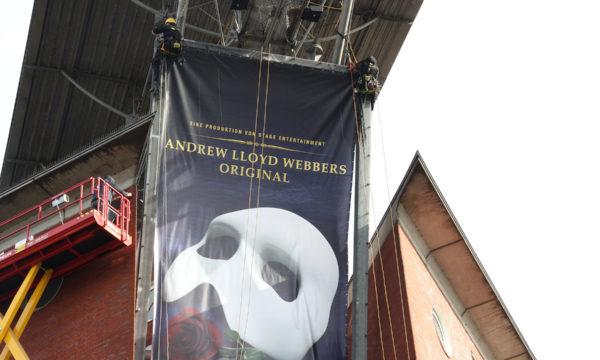 ropeworx - theater neue flora - bannermontage
