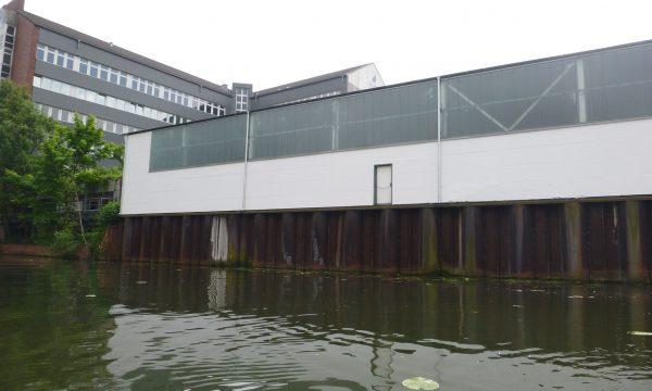 ropeworx Höhenarbeiten - Werkshalle am Fleet