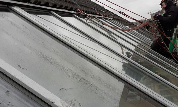 ropeworx - Industriekletterer - Glas- und Fensterreinigung