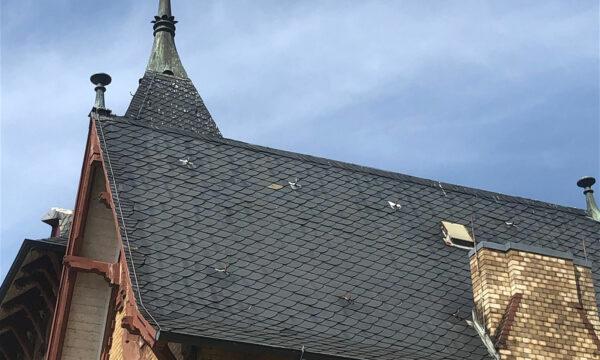 ropeworx - Industriekletterer - Schieferarbeiten - Dacharbeiten